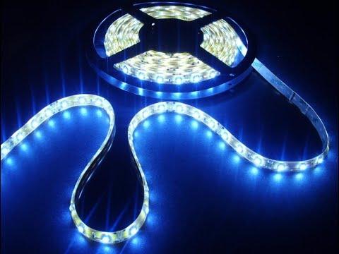 LED Strip Lights Installed on Boat