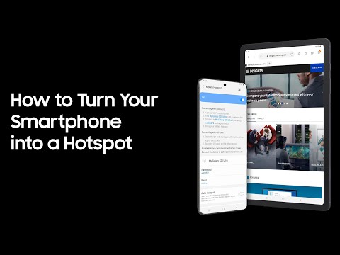 How To Turn Your Smartphone Into A Hotspot
