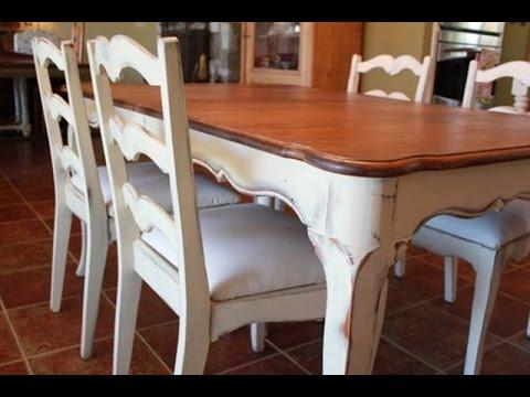 Easy DIY Vintage Antique Table Top