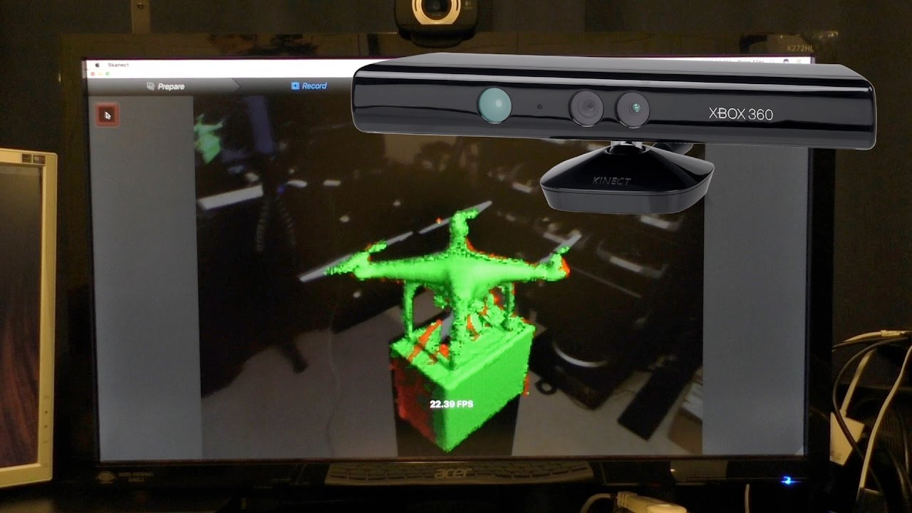 3D Scanning from a Kinect?