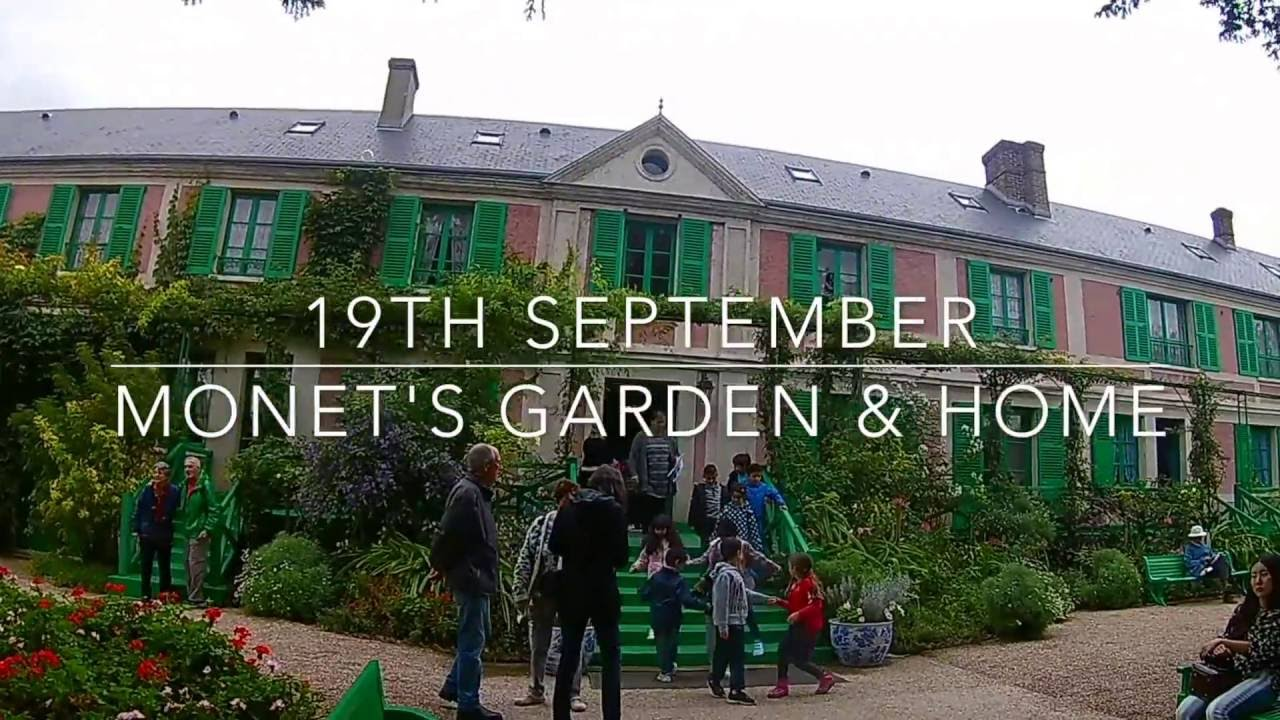 Vlog 19th September: A Visit To Monetu0027s Garden And Home In Giverny