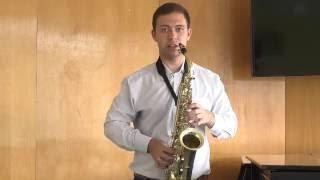 Уроки саксофона. Постановка пальцев