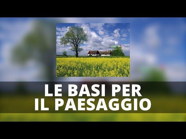 Basi Parte 1 (PAESAGGIO) - Tonality Masks