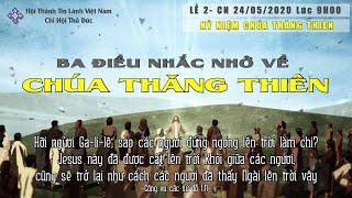 HTTL THỦ ĐỨC - Chương trình thờ phượng Chúa - Lễ 2 - 24/05/2020