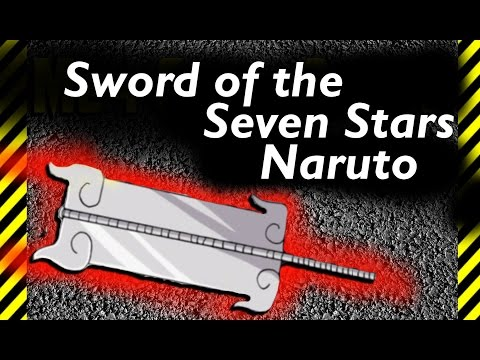 How To Make The Sword Of The Seven Stars Of The Paper  Treasure Of The Sage Of The Six Paths Naruto