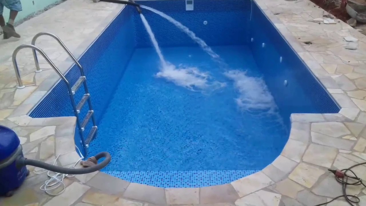 Piscina youtube for Piscina 7x3