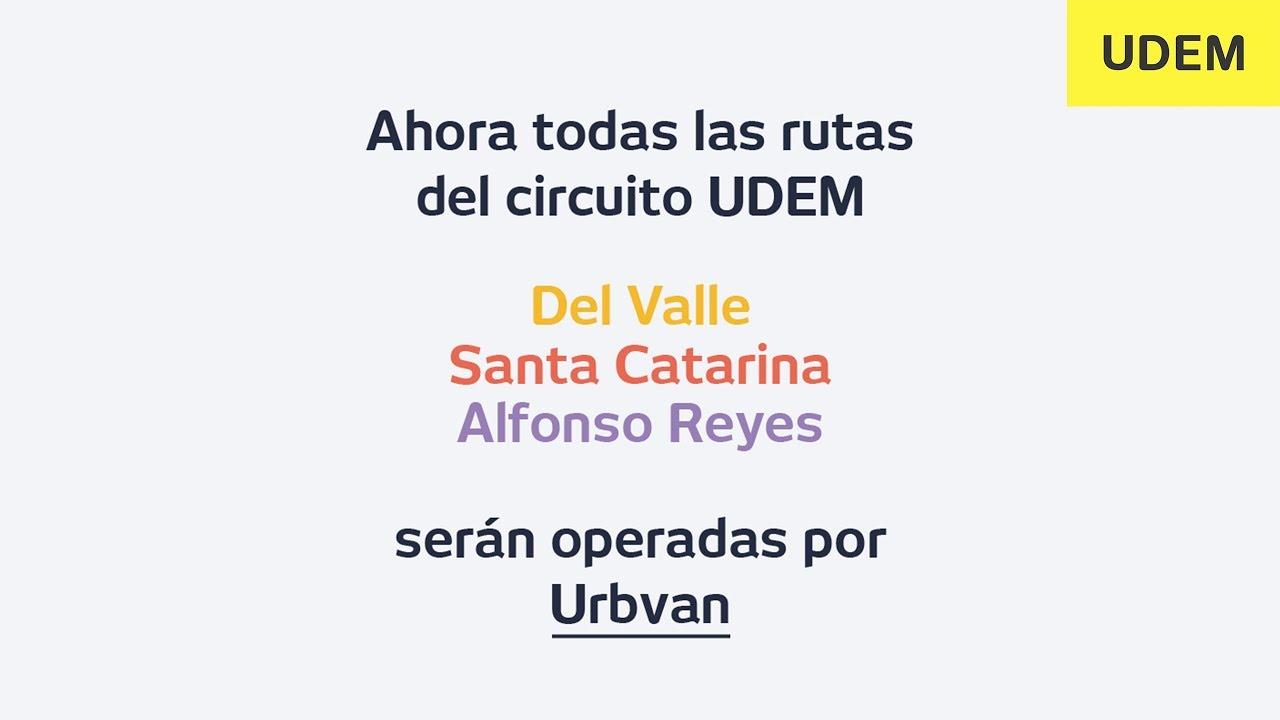 Circuito Udem : Formas de llegar a la udem sin carro « agencia informativa udem