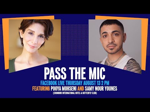 Pass the Mic: Pooya Mohseni and Samy Nour Younes - YouTube