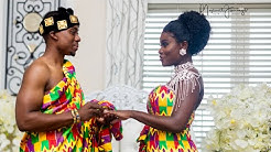 A Ghanaian Traditional Wedding ( Phillip & Tina)  #Onceuponamponsah