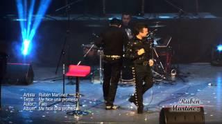 "RUBEN MARTINEZ / FT / FATO ""ME HICE UNA PROMESA"" EN VIVO 2012"
