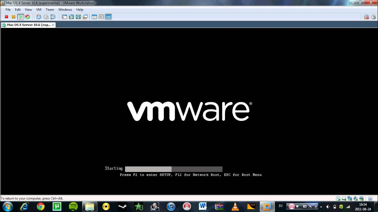 VMware - Operating system not found