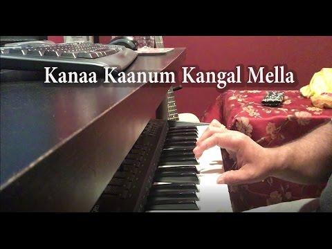 Kanaa Kaanum Kangal Mella | MSV | Piano Cover | Swamy Kitcha