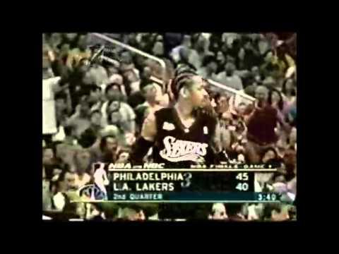 Allen Iverson - 2001 vs. Lakers (2001 NBA Finals - Game 1)