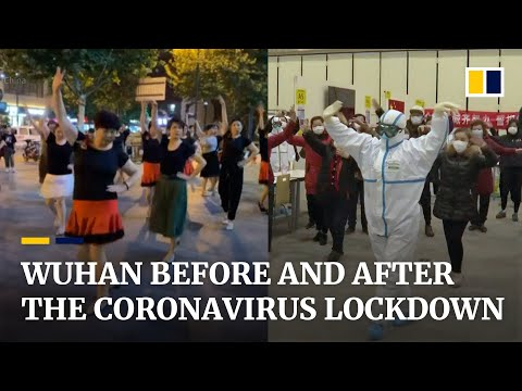 A look at China's industrial and transport hub Wuhan before and after its coronavirus lockdown