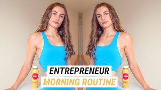 Productive Morning Routine 2019 | Entrepreneur Edition