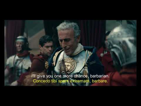 Barbarians (2020) S1xE1 Latin subtitles-- Varus, Arminius, Metellus, Gernot