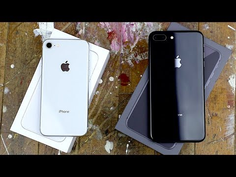 Download Youtube: iPhone 8 and 8 Plus unboxing and impressions!