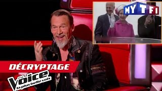 Vcryptage Emission 7 - Florent Pagny se la joue Reine d'Angleterre - The Voice (Saison 06)