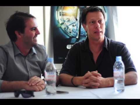 """Gavin Hood And Bob Orci Reenact A Scene From """"Ender's Game"""""""