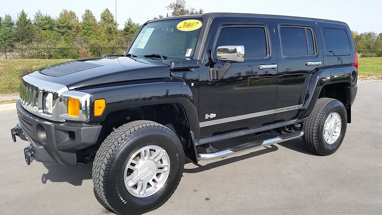 sold 2007 HUMMER H3 4X4 LUXURY EDITION RUST FREE 1 OWNER JUST 88K