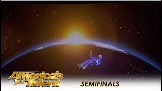 Gambar cover Front Pictures: An EPIC Virtual Reality Out-Of-Space Experience! | America's Got Talent 2018