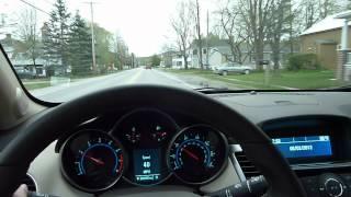 2012 Chevrolet Cruze 2LT Test Drive