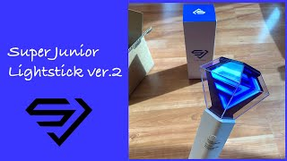 Super Junior Lightstick Ver.2 Unboxing ?