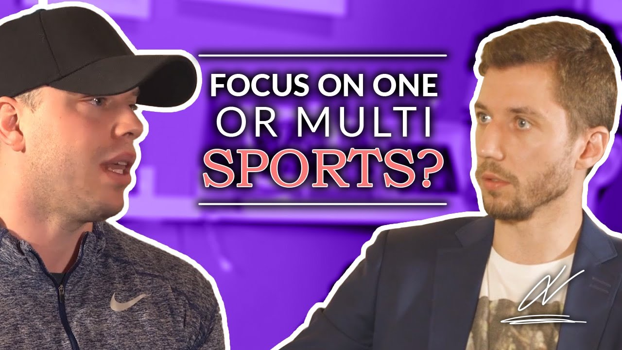 Should Your Kids Focus on One or Multi Sports - Marek Komar on #TalktoJV