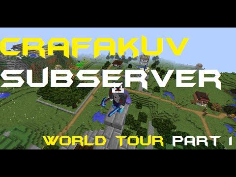 Crafákův Subserver | World tour | Davis ^_^