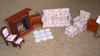 Victorian Dolls House & Optional Furniture/accesories
