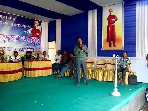 MLA Arindam bhattachariya in various social programs.(15)