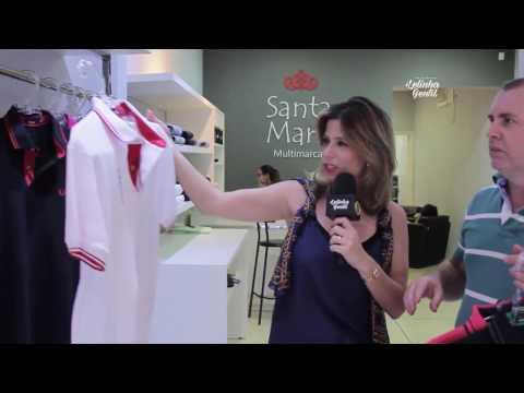 Camisas femininas Dudalina em promoção na Santa Maria