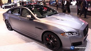 2018 Jaguar XJ R 575 - Exterior and Interior Walkaround - 2018 Chicago Auto Show