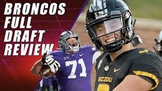Denver Broncos Full Draft Recap & QB Drew Lock