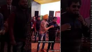 Ranjit Bawa with Surinder Shinda ji on Stage