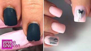 Клиентка Сама Делала предыдущий маникюр Эффектное преображение ногтей Ирина Брилёва