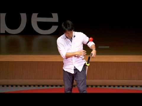 CHANBARA: Samurai battle game that disarm your heart | Ryo IKESHIMA | TEDxKobe
