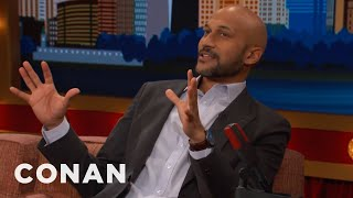 Keegan-Michael Key Didn't Expect Theater Audiences To Be So Vocal  - CONAN on TBS