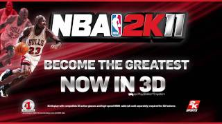 NBA 2K11 3D Launch Trailer (PS3)