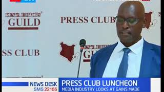 Kenyan Editors Guild host Press Club Luncheon