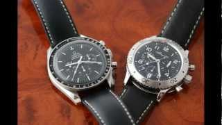Omega Speedmaster Professional V Breguet Type XX - Chronograph Showdown