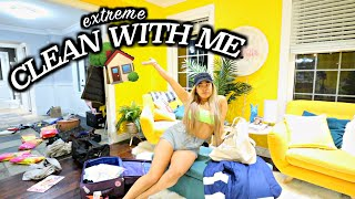 UNMOTIVATED TO CLEAN? WATCH THIS!  Cleaning my ENTIRE HOUSE in one day.