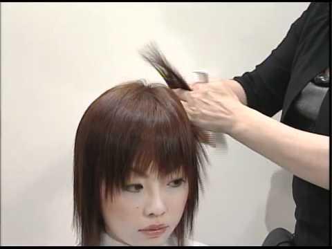 Short Hair Cut All Texturing Technique