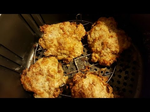 Air Fryer Fried Chicken Thighs Airfryer Todd English Youtube