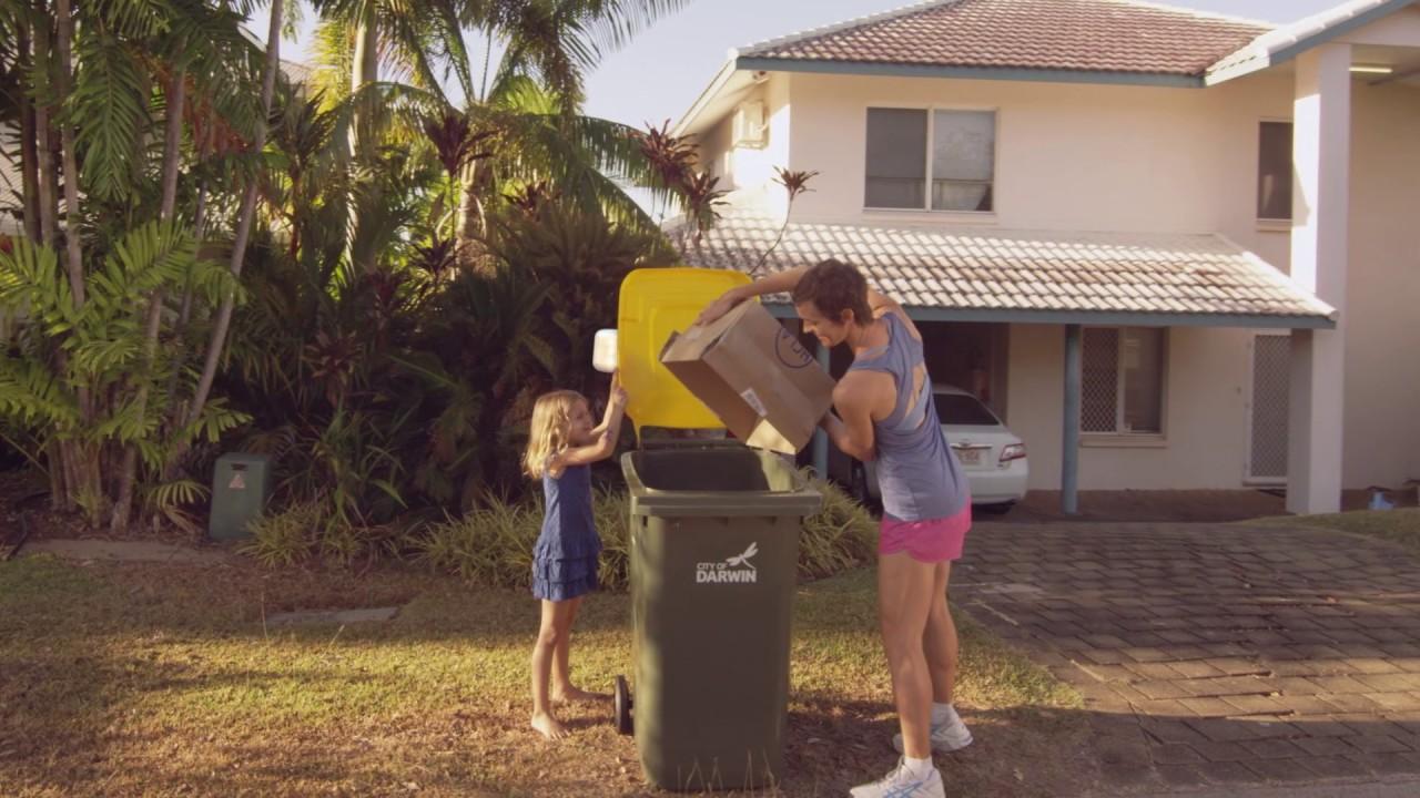 Bin Collection Household | City of Darwin | Darwin Council, Northern