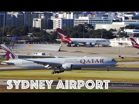 [ 4K ] Arrivals And Departures | Sydney Airport.
