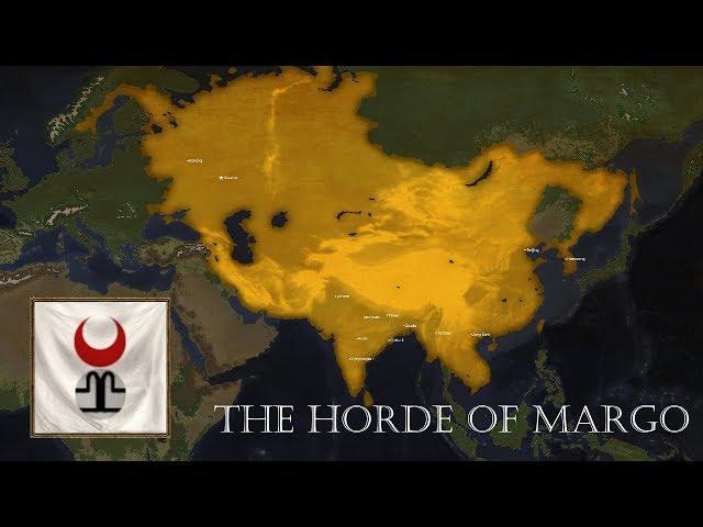 EU4 - Golden Horde - Timelapse