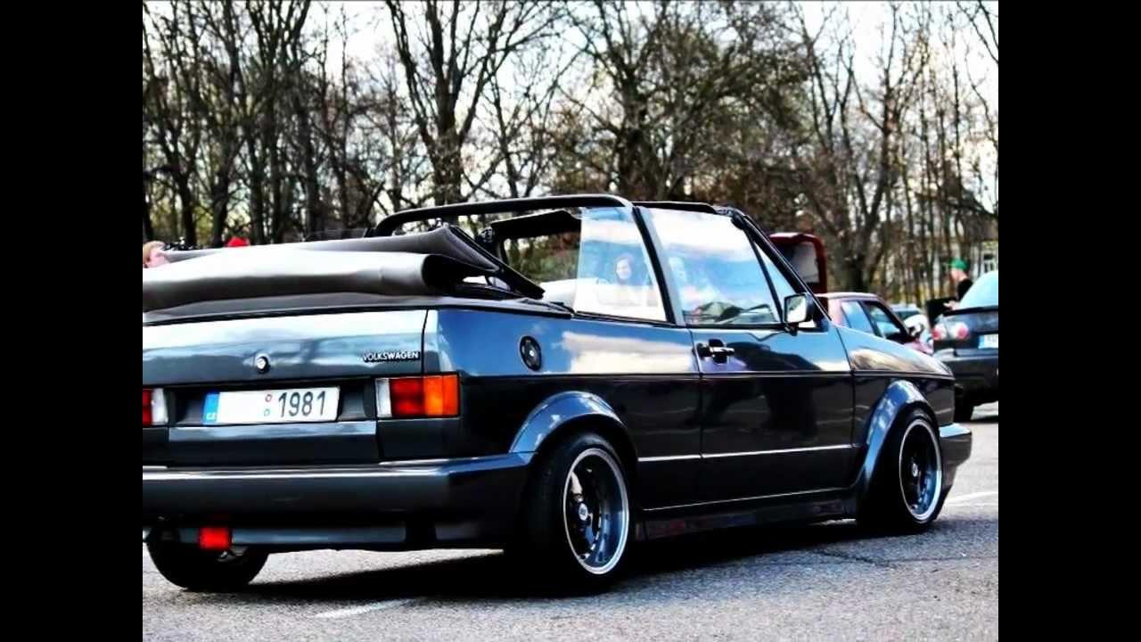 Volkswagen Golf R >> VW Golf mk1 cabrio r.1981 - YouTube