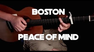 Boston - Peace Of Mind - Fingerstyle Guitar