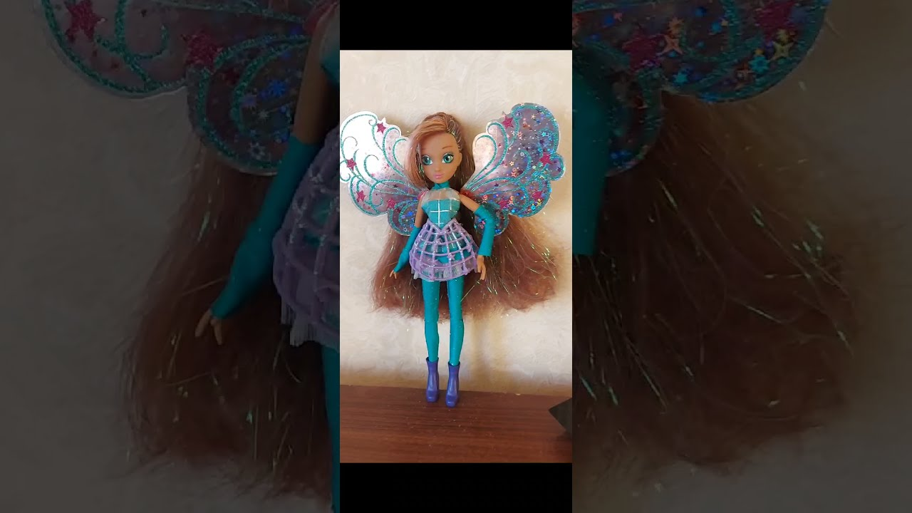 Лейла Космикс кукольная трансформация ( перезалив )